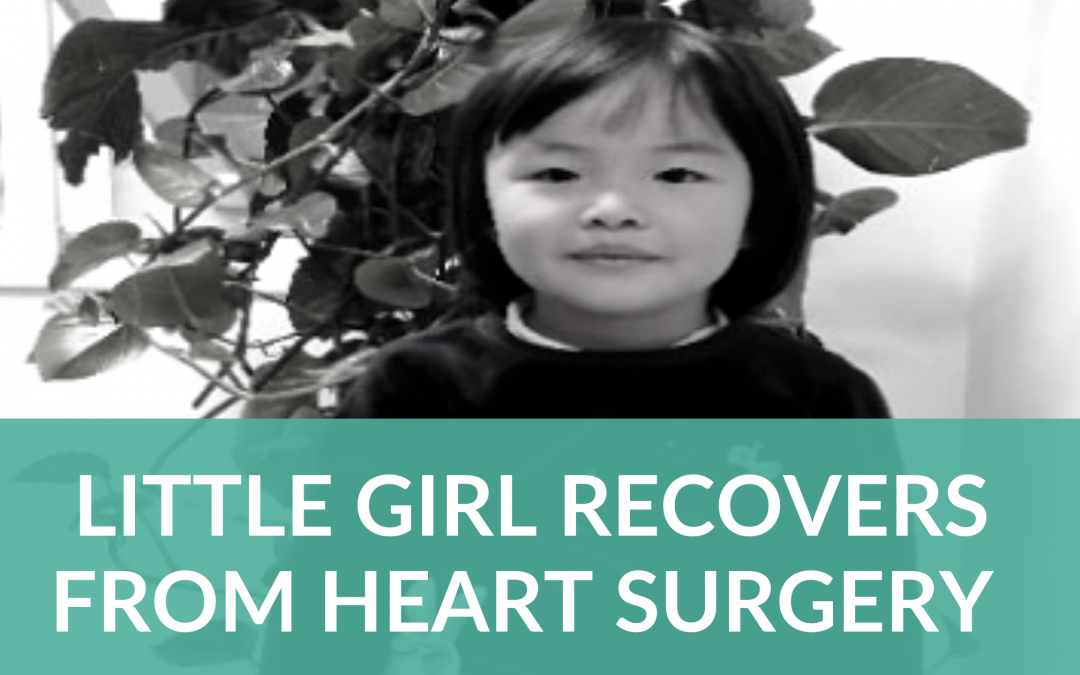 Little Girl Recovers From Heart Surgery